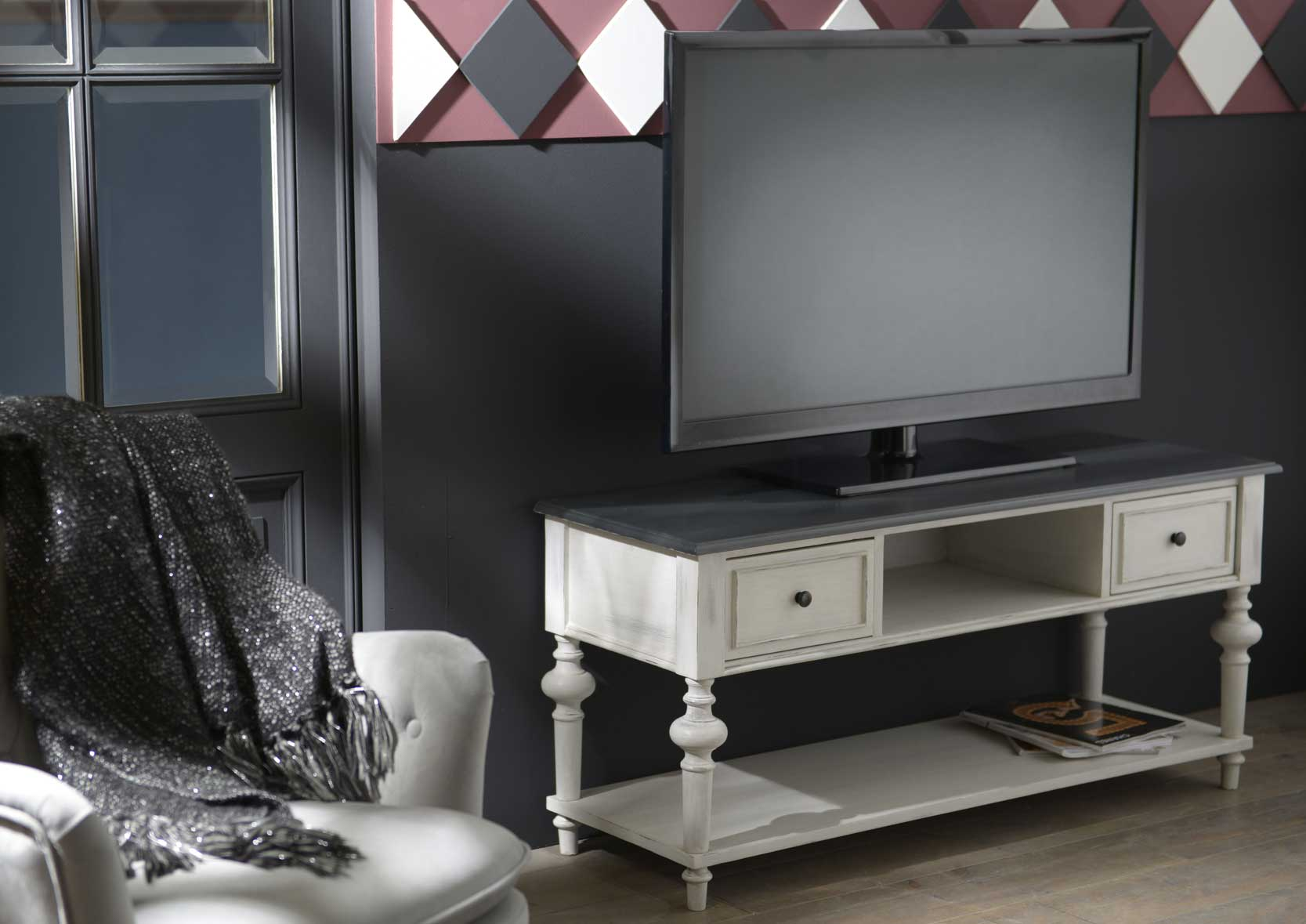 meuble tv h ritage amadeus 122692 10 magasin de meubles. Black Bedroom Furniture Sets. Home Design Ideas