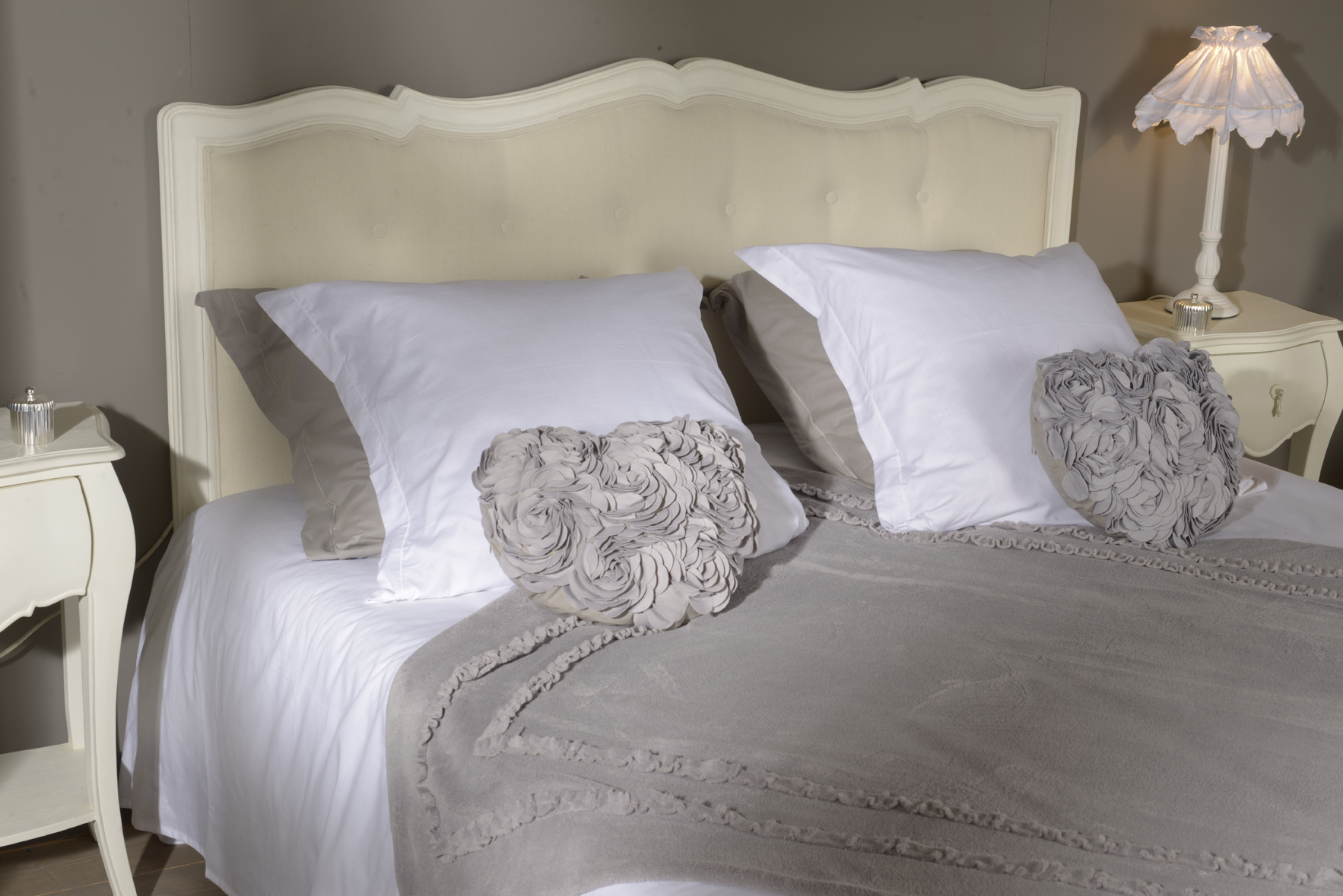 Tete de lit murano creme antique 160 amadeus 064737 d for Testate letto matrimoniale amazon