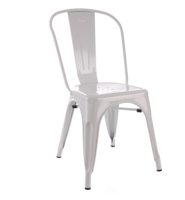 Esprit DAutrefois Vous Propose Les Chaises Industrielles En Coloris Blanc Au Meilleur Prix